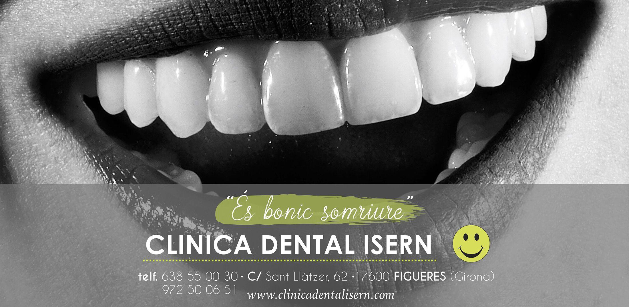 Clínica dental Isern - Portada